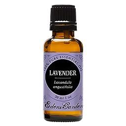 Lavender 100% Pure Therapeutic Grade Essential Oil by Edens Garden- 30 ml