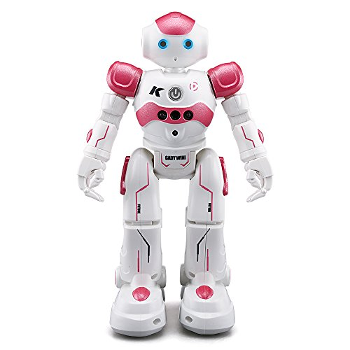 Remote Control RC Robot, JJRC CADY WINI Smart Programming Gesture Sensing Robotics Humanoid Robots Kit Toys Present For Kids Preschooler Entertainment,by ECLEAR - (Left Eye Halloween Costume Ideas)