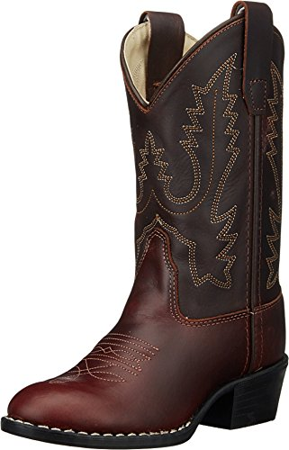 Old West Kids Boots Unisex Round Toe Western Boot (Toddle...