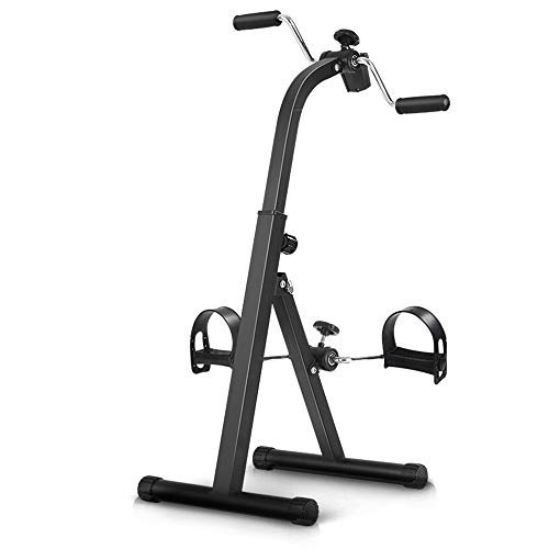 Xinrangxin Home Exercise Bike, Rehabilitation Bicycle Portable Folding Elderly Indoor Fitness Equipment Hand and Foot Sports Bicycle, Health Care Adjustable Body Trainer, Physical Therapy Machine