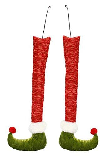 Whimsical Pair of Christmas Elf Legs (17