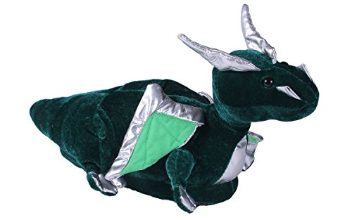 9068-3 - Dragon - Large - Happy Feet Animal Slippers