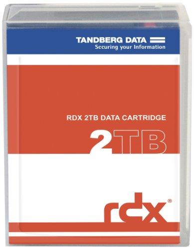 Tandberg RDX QuikStor - RDX X 1 - 2 TB - Storage Media, Black (8731-RDX) by TANDBERG