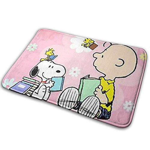 DeniseY Welcome Doormat Learning Snoopy Rug 15.7