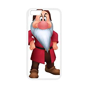 Disney Snow White And The Seven Dwarfs Character iPhone 6 Plus 5.5 Inch Cell Phone Case White persent xxy002_6030748