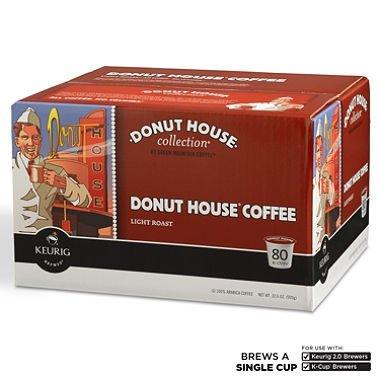 Donut House Light Roast (Donut House Light Roast 80 Coffee K-Cups for Keurig K-Cup)