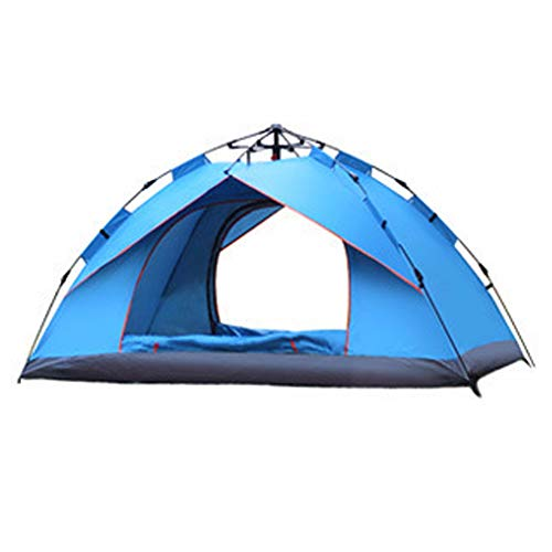 GYFHMY 2-3 Person Family Camping Tent Instant Setup Automatic Pop Up Tents Waterproof Sun Shelter for Baby UV Protection for Fishing Hiking and Beach Travel
