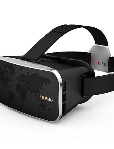 VR PARK-V3Virtual Reality 3D Video Glasses Headset – Black, Black