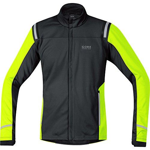Jwsmym Et jaune Mythos 0 Shell Wear Respirante Course Running So Fluo Homme Ws Chaude 2 Veste Gore Windstopper Soft De Noir 0Tw7q5H
