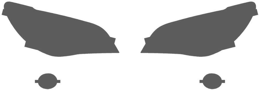 Smoke WRX 2006-2007 Rvinyl Rtint Headlight Tint Covers for Subaru Impreza 2006-2007