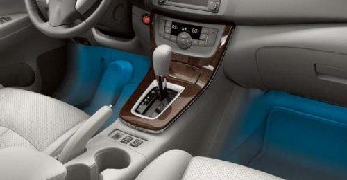 Amazon 2013 Nissan Sentra Interior Accent Lighting 20 Color