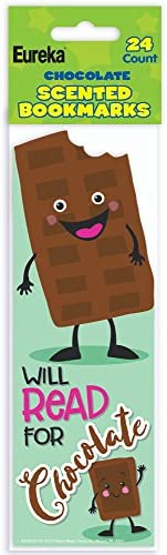 24 Pieces Fun Express Chocolate Scented Bookmarks