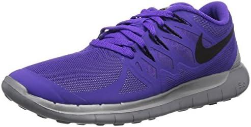 Nike - Zapatillas de running Nike Free 5.0 Flash , Mujer , Negro (Black/Reflect Silver-Wolf Grey 001), Hypr Grp/Blk/Rflct Slvr/Wlf Gr, 36.5: Amazon.es: Zapatos y complementos