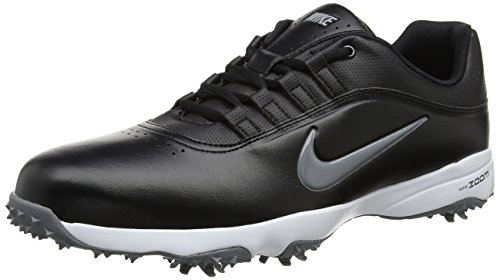 Nike Men's Air Zoom Rival 5 Golf Shoes, Black/Cool Grey/White, 8 M US