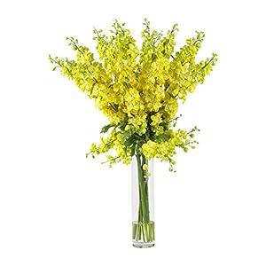 Artificial Flowers -Delphinium Flower Arrangement Silk Flowers 35