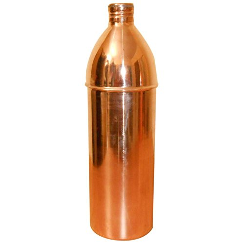 900 ML Pure Copper Best Quality 12 Bottle set Water Bottle For Health Benefits by panchal creation (Image #1)