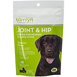 Tomlyn Joint And Hip Chews For Medium And Large Dogs, 30 Ct