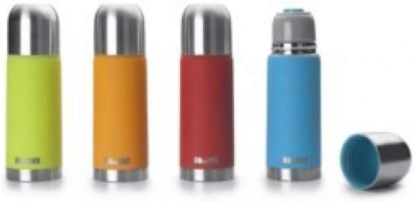 IBILI Termo para líquidos (500 ml), Acero Inoxidable, Multicolor, 24x7x7 cm