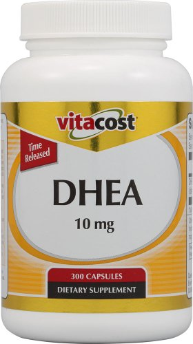 Mg 10 Capsules 300 (Vitacost DHEA Time Released -- 10 mg - 300 Capsules)