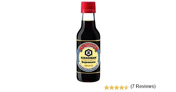 Kikkoman - Salsa de soja - Naturalmente fermentada - 150 ml