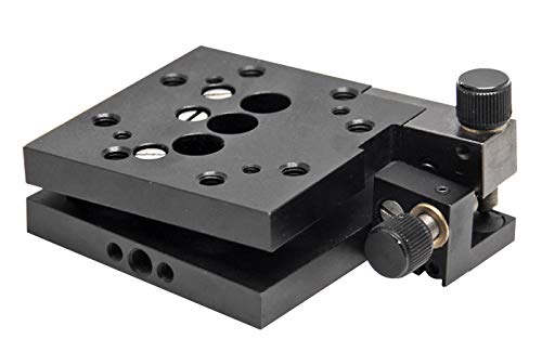 - Huanyu 2-axis Manual Optical Tilt and Rotation Stage Platform Translation Stage Linear Stage