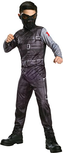 [Rubies Captain America: The Winter Soldier Costume, Child Large] (Zombie Soldier Costumes)