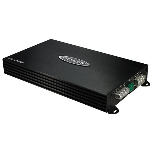 Jensen Power 500x1 Mono Channel Car Amplifier with 1,000 Watt Peak Performance