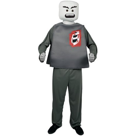 Blockhead Costumes (Mr Blockhead Zombie Costume)