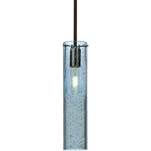 Besa Lighting 1TT-JUNI16BL-BR Juni 16 1 Light Bronze Stem Pendant Ceiling Light ()