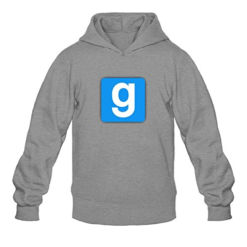 Price comparison product image Garry's Mod Gmod Logo Long Sleeve Sweatshirts Hoodie Men's Tommery XL