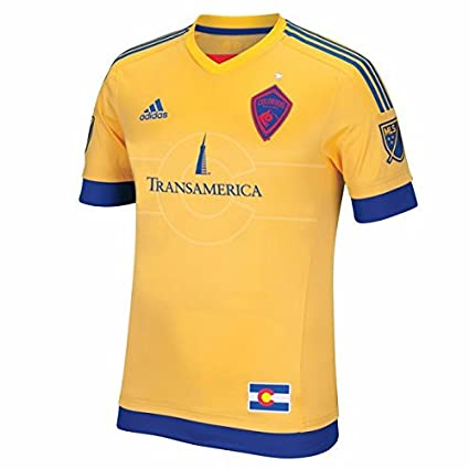 info for f7728 0d8bf Amazon.com : adidas Colorado Rapids MLS Men's Gold Short ...