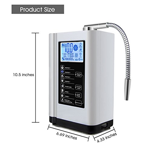 Augienb Touch Water Purifier Amp Ionizer Alkaline Acid