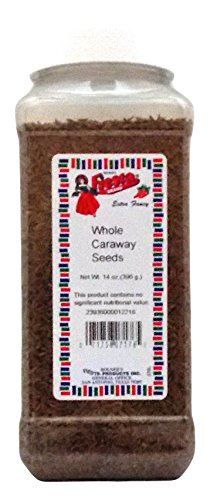Bolner's Fiesta Extra Fancy Whole Caraway Seeds, 14 Oz. by Fiesta