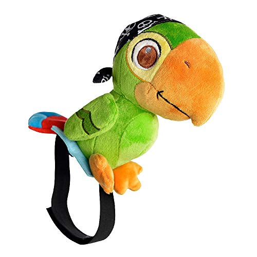 Disney Junior Jake and The Never Land Pirates Skully Prop Plush Parrot ()