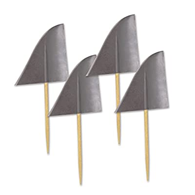 Beistle 60024 Shark Fin Picks