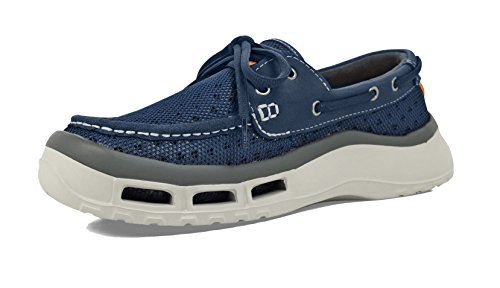SoftScience The Fin 2.0 Men's Fishing/Boating Shoes - Blue, Size 10