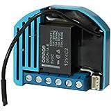 Qubino Flush 2 relais interrupteur, Micromodule EU Z-Wave Plus encastré, 1 pièce, ZMNHBD1.
