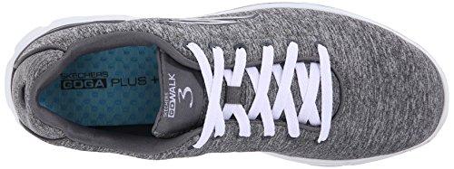 Skechers Go Walk 3 Größe 37, Farbe grau