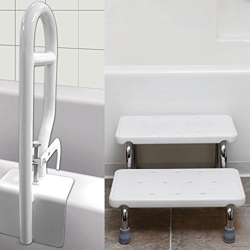 Bath Safety Kit - Bath Steps And Safety Bar