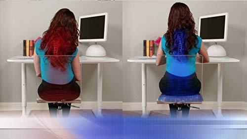 Ufficio e Auto Adatto a Tutti i Tipi di sedie per casa Cuscino in Gel Visto in TV Restform Comfysit