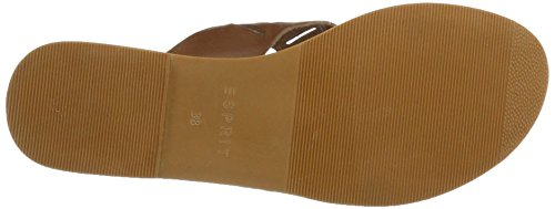 Esprit Thea Perf Cc, Mules para Mujer Marrón (Toffee)