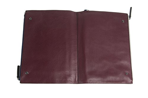 Clarke One Pouch Wine MINKOFF Snap BEN Leather Size Double Men's Genuine fgBqq80In