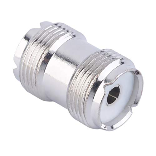 (Exiao UHF SO-239 Female to Female Coupler RF Adapter Connector for PL-259 Plugs Newest)