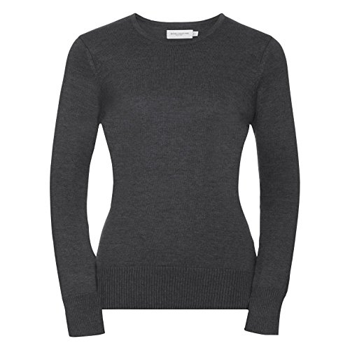 Russell Femme Pull fonc Moderne Gris Athletic qS8rq1B
