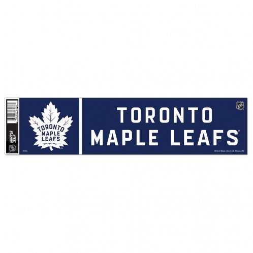 Toronto Maple Leafs Bumper Sticker Maple Leafs Bumper