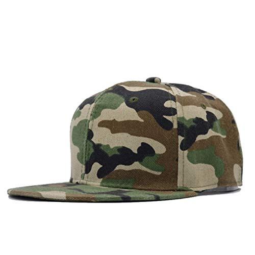 Nimdhfsa Snow Camo Baseball Cap Men Tactical Cap Camouflage Hat for Men Bone Dad Hat Trucker B Style Army - Mens Mesh Cap Ventilator