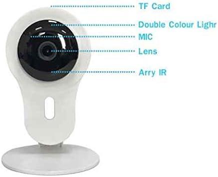 Vigilancia, CCTV Vigilancia red Webcam, vigilancia de seguridad doméstica, IP Camera Detector de movimiento y filtro IR para visión nocturna con a dos vías ...