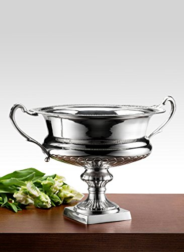 Silver-Plated Trophy Flower Urn - Trophy Silver Cup