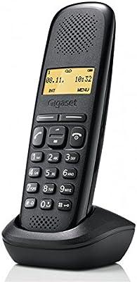 Gigaset A150 - Teléfono inalámbrico, Color Negro: Amazon.es: Electrónica