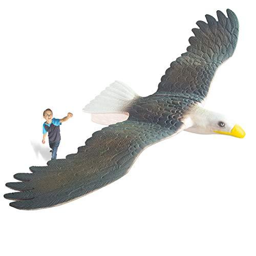 Geospace GEOGLIDE Freedom Eagle Glider with 33 inch Wingspan ()